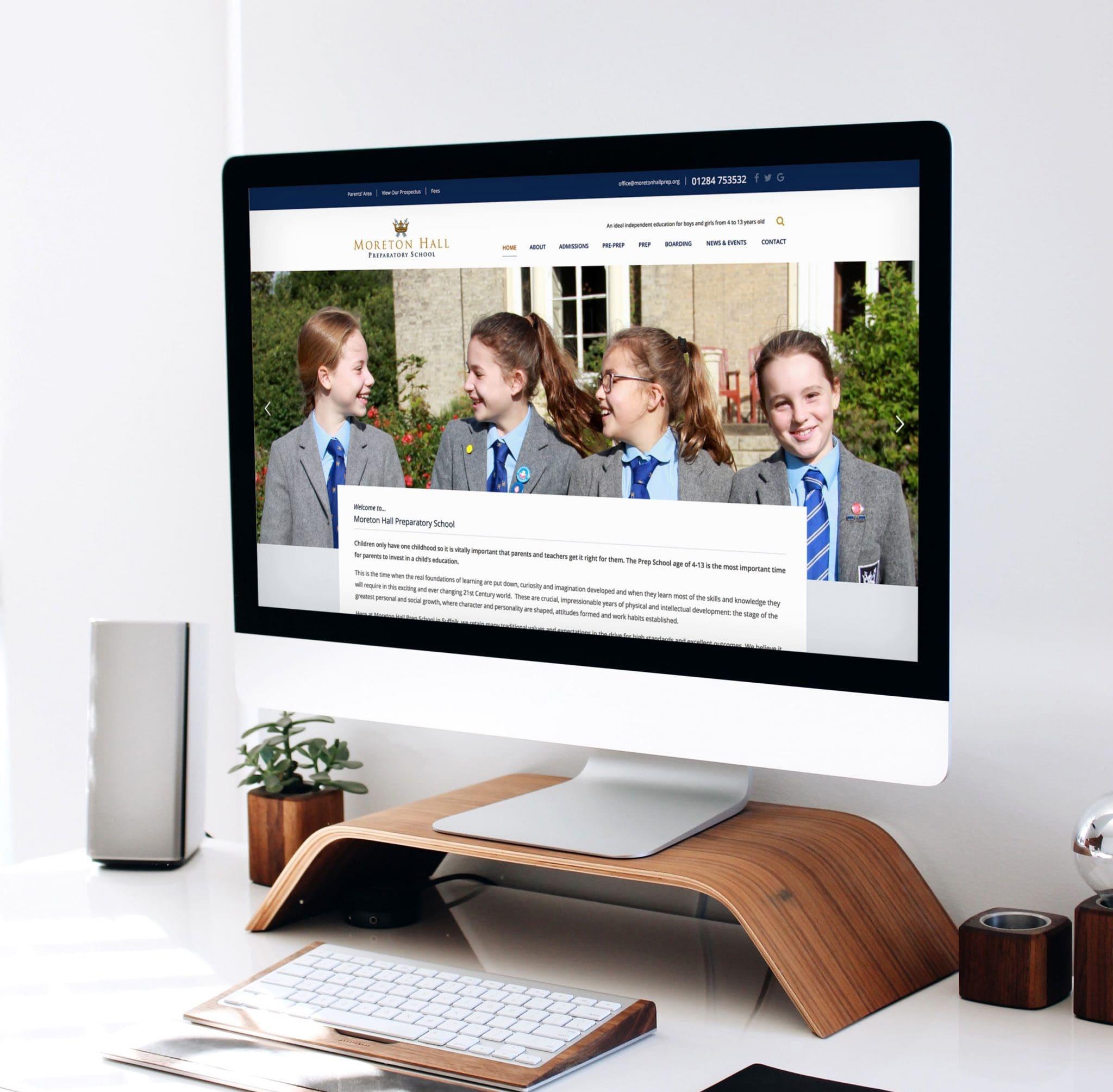 Moreton Hall Prep School WordPress Website