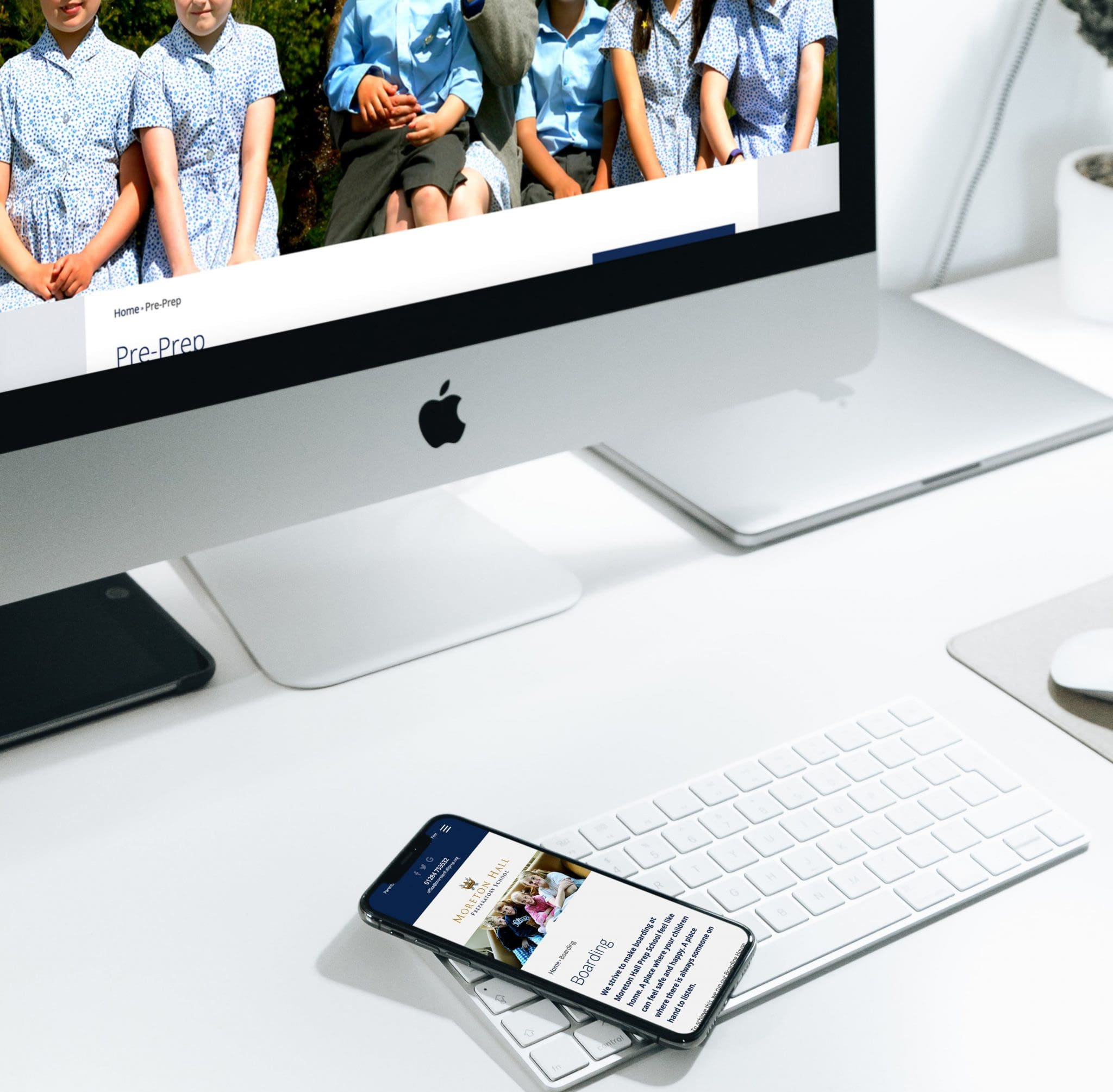 Moreton Hall Prep School WordPress Website