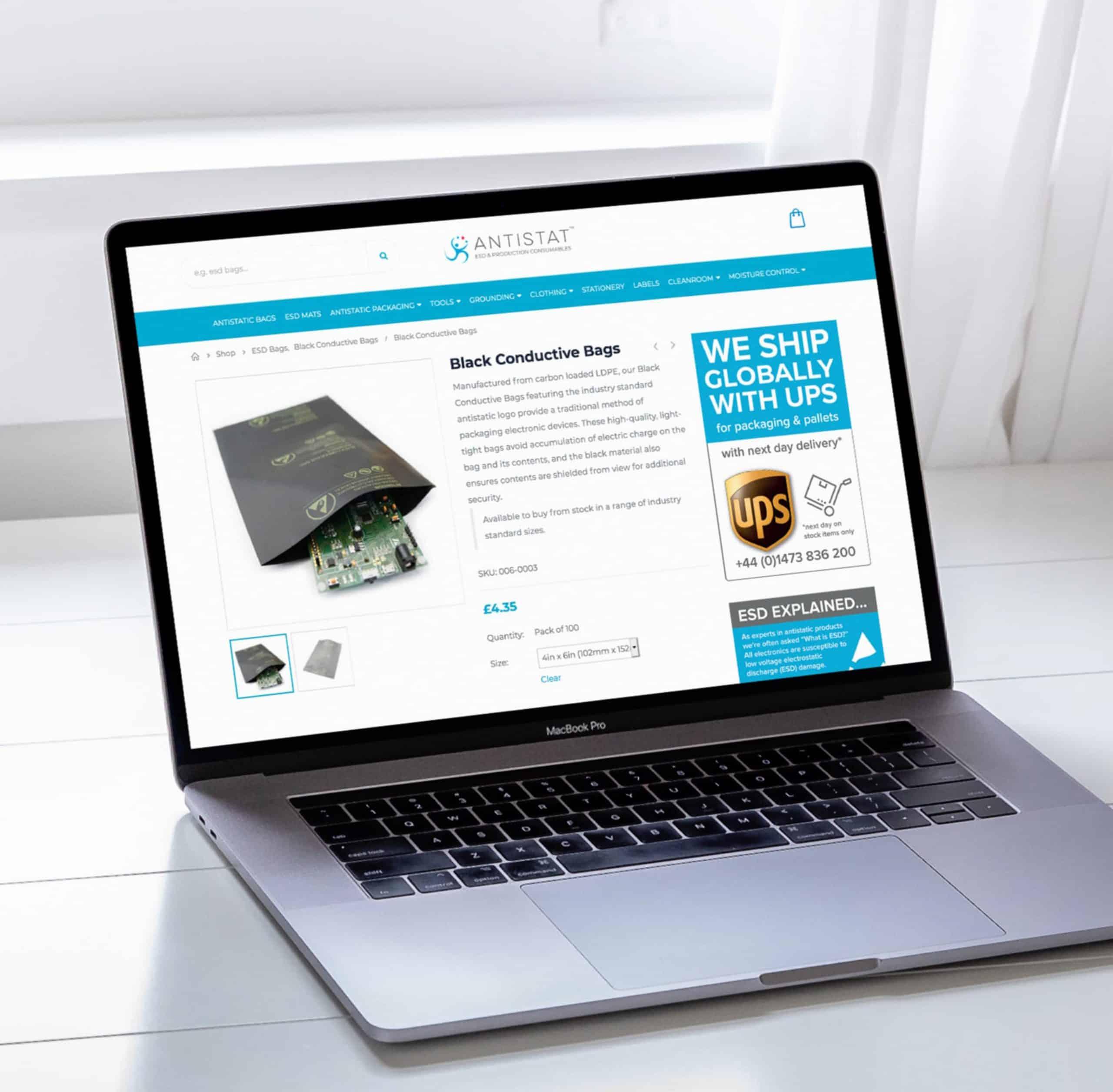 Antistat eCommerce Store