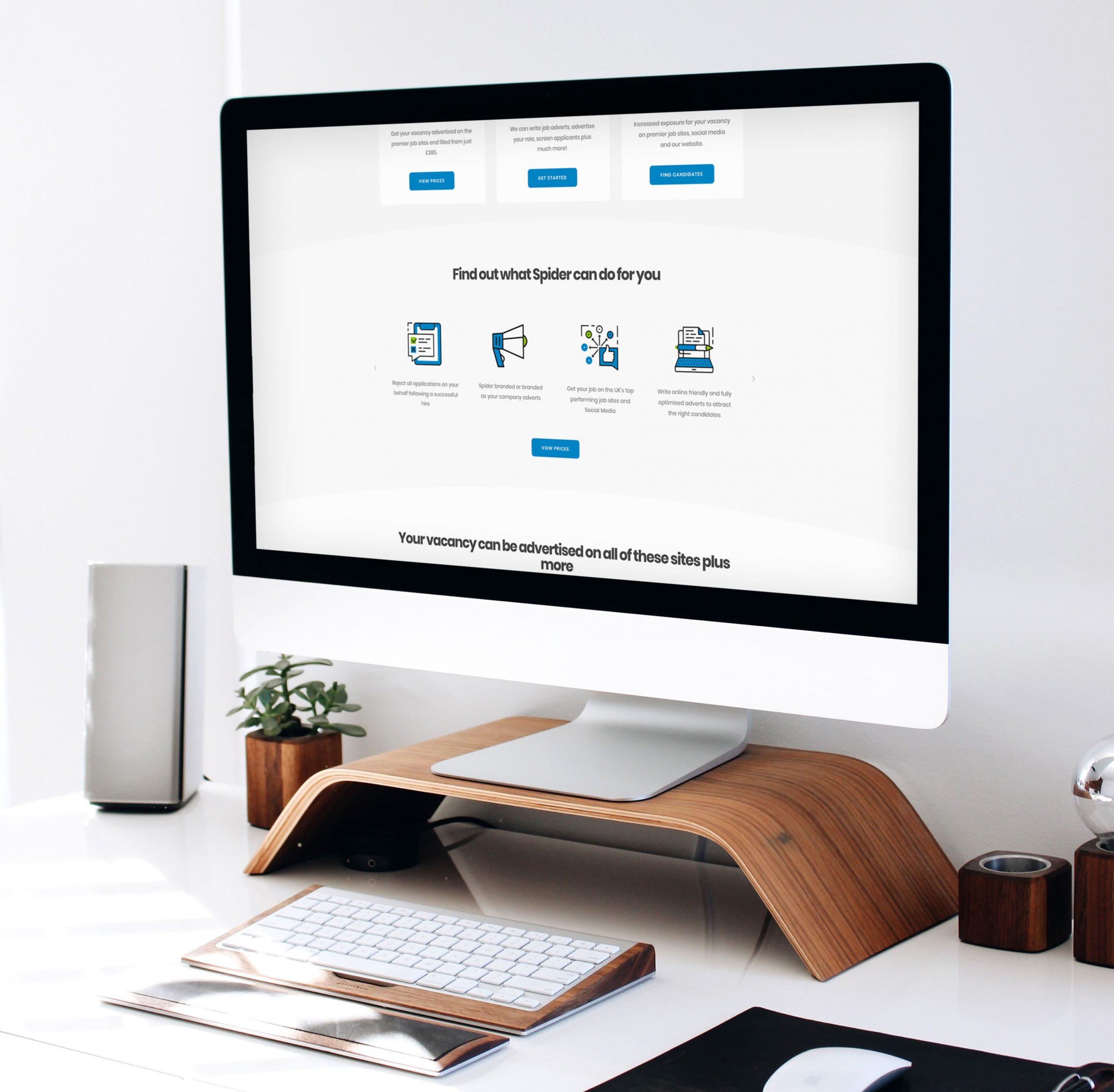 Spider Recruitment WordPress Website