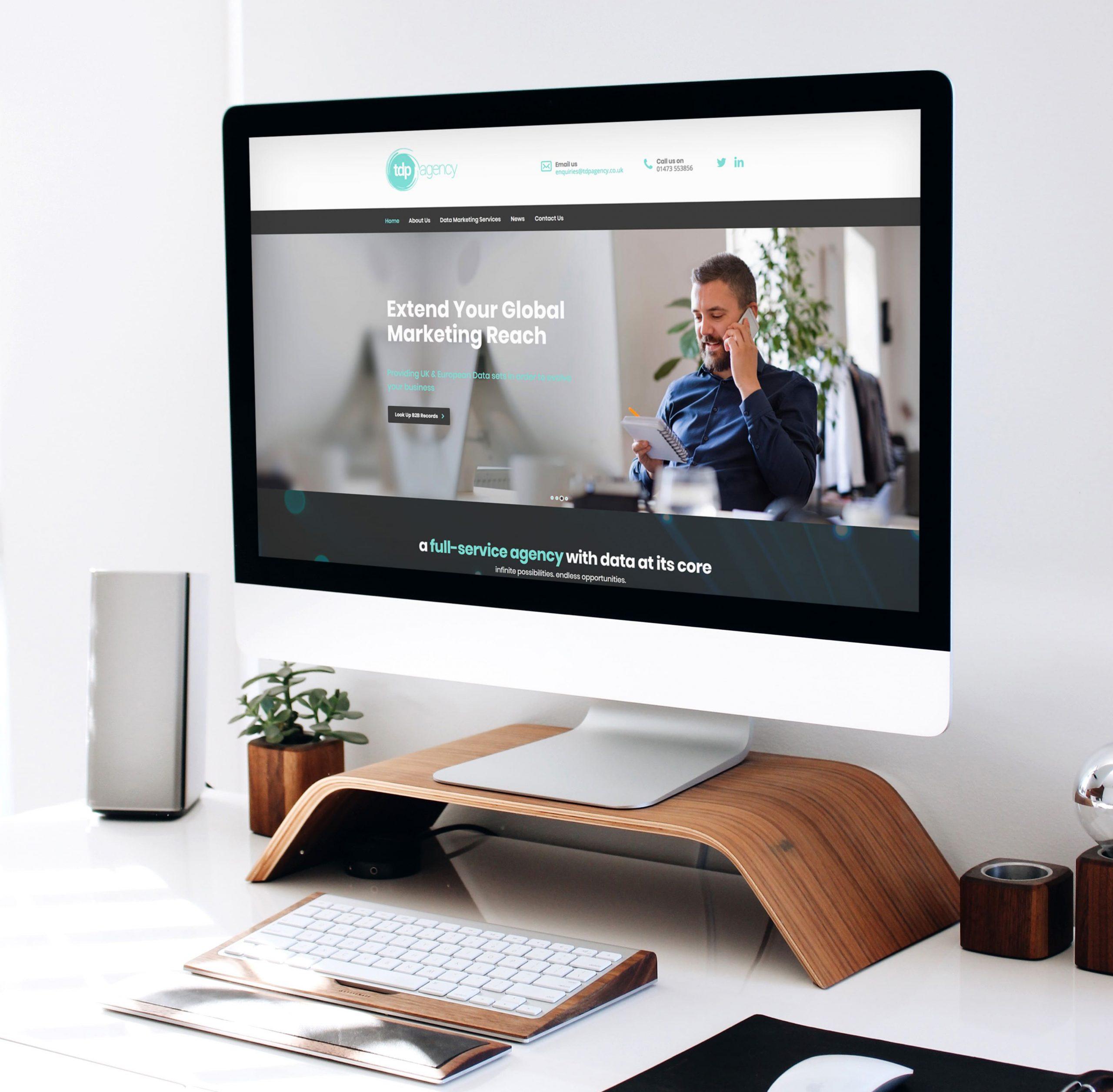 TDP Agency WordPress Website