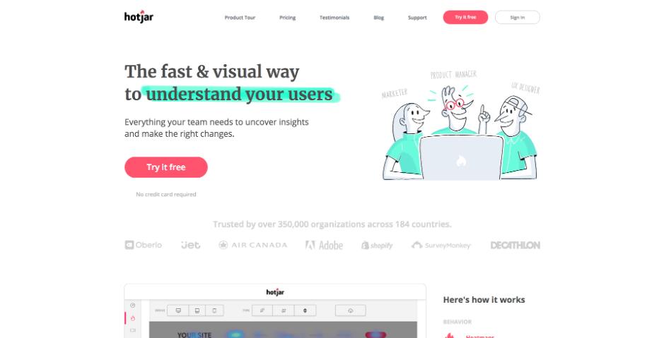 Hotjar Web Design