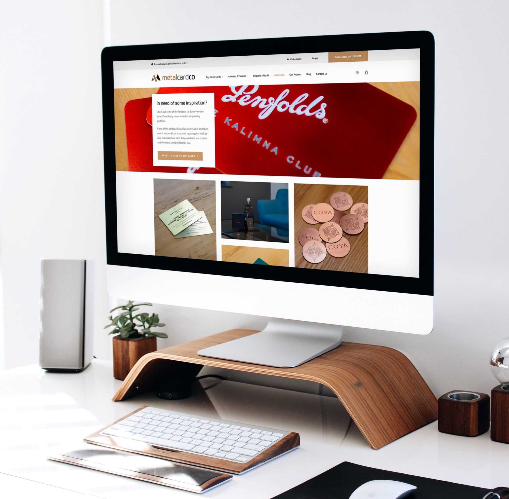 Metal Card Co eCommerce Store