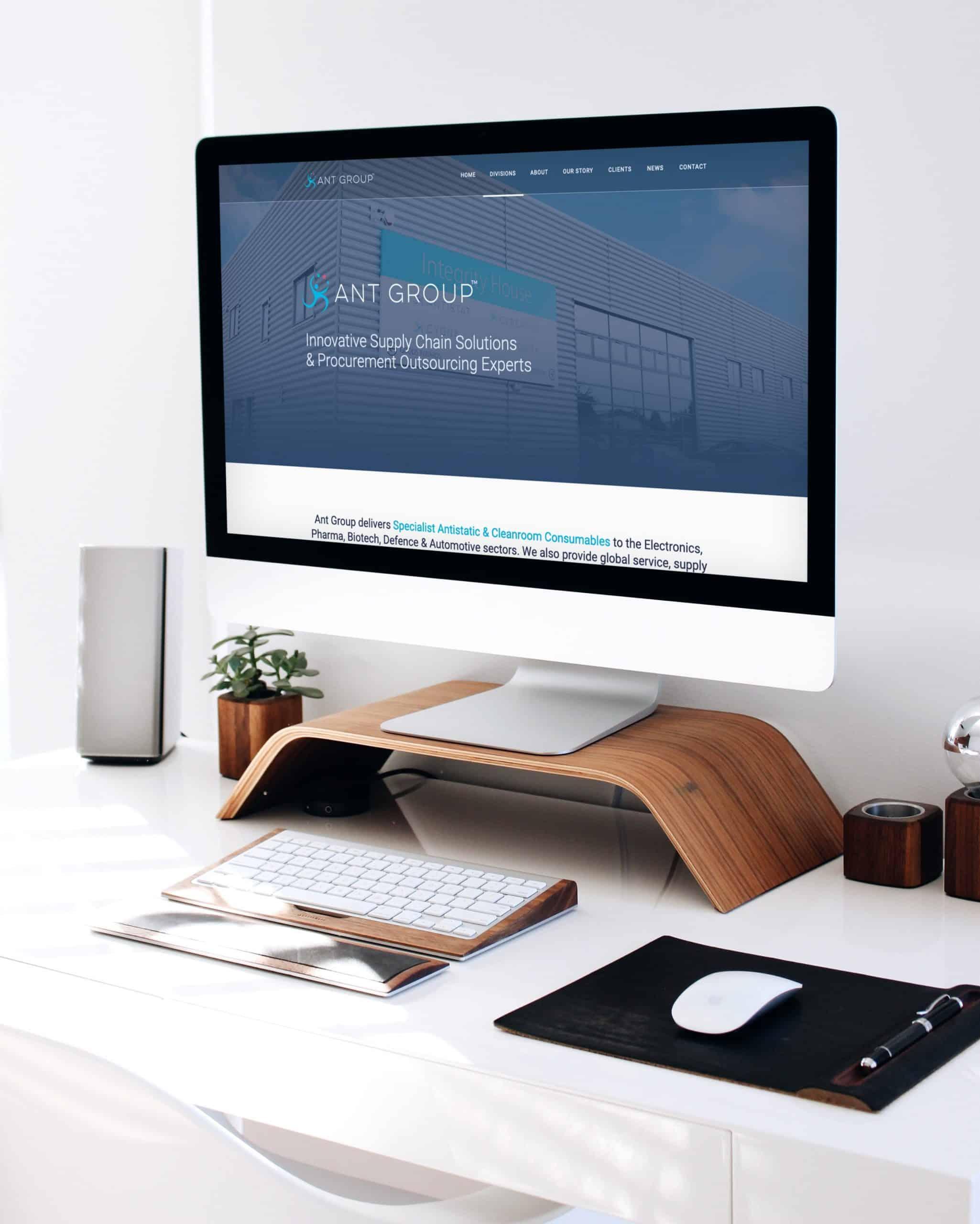 Ant Group WordPress Website
